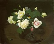 James Stuart Park - Yellow and Pink Roses