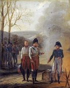Pierre Paul - The Meeting of Napoleon and Francois II, Emperor of Austria