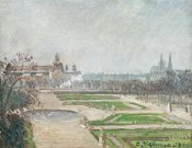 Camille Pissarro - The Tuileries Gardens and The Louvre
