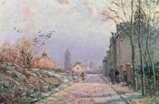 Camille Pissarro - The Road, Effect of Winter