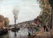Camille Pissarro - The Seine at Marly