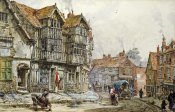 Louise Rayner - Old Houses, Shrewsbury