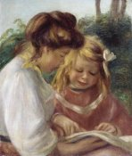 Pierre-Auguste Renoir - The Alphabet, Jean and Gabrielle