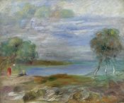 Pierre-Auguste Renoir - Two People at The Water's Edge