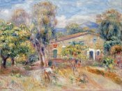 Pierre-Auguste Renoir - Collettes Farmhouse, Cagnes