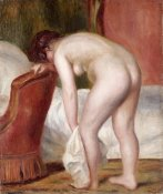 Pierre-Auguste Renoir - Female Nude Drying Herself