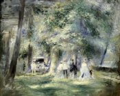 Pierre-Auguste Renoir - In the Park at Saint-Cloud