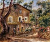 Pierre-Auguste Renoir - Collette's House at Cagnes
