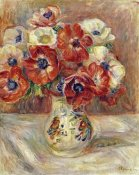 Pierre-Auguste Renoir - Still Life With Anemones