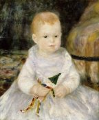Pierre-Auguste Renoir - Child with a Toy Clown