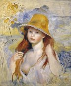 Pierre-Auguste Renoir - Young Girl With a Hat