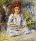 Pierre-Auguste Renoir - Little Algerian Girl
