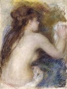 Pierre-Auguste Renoir - Nude Back of a Woman