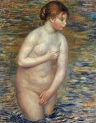 Pierre-Auguste Renoir - Nude In The Water