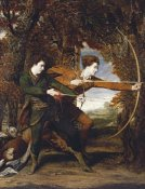 Sir Joshua Reynolds - The Archers