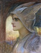 Sir William Blake Richmond - St Joan of Arc