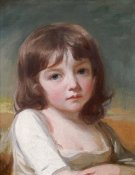 George Romney - Portrait of a Girl