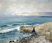 Guy Rose - Incoming Fog, La Jolla