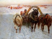 Franz Alekseevitch Roubaud - The Sleigh