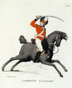 Thomas Rowlandson - Lambeth Cavalry