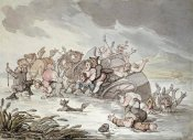 Thomas Rowlandson - The Mishap