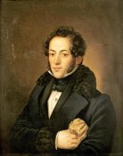 Russian School - The Poet Aleksandr Sergeevich Pushkin