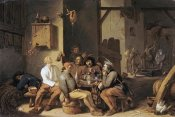 Cornelis Saftleven - Peasants Smoking and Drinking