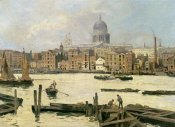Paolo Sala - A View of St. Paul's From The Thames