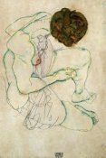 Egon Schiele - Seated Nude Woman