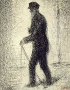 Georges Seurat - Walking