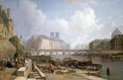 Colet Robert Stanley - A View of Ile De La Cite, Paris