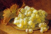 Eloise Harriet Stannard - Grapes On a Silver Plate