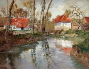 Frits Thaulow - The Dairy at Quimperle