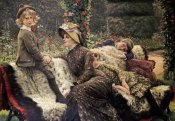 James Jacques Tissot - The Garden Bench