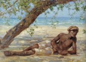 Henry Scott Tuke - Samuel Under a Tree, Jamaica