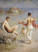 Henry Scott Tuke - Gleaming Waters