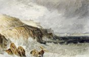 Joseph M.W. Turner - Plymouth Citadel, a Gale