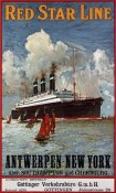 Unknown - Red Star Line, Antwerpen-New York