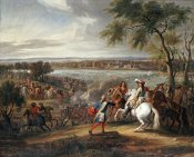 Adam Frans Van Der Meullen - King Louis XIV of France Crossing The Rhine