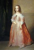 Sir Anthony Van Dyck - Portrait of Mary, Princess Royal