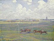 Theo Van Rysselberghe - The Racecourse at Boulogne-Sur-Mer