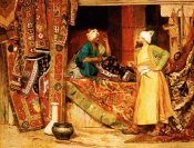 Jean Georges Vibert - Carpet Seller