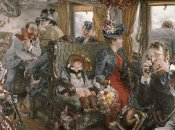 Adolf Von Menzel - On The Train, Observed From Life