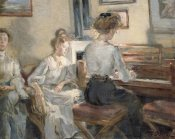 Fritz Karl Hermann Von Uhde - Evening Music