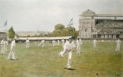 W.B. Wollen - Cricket at Lords