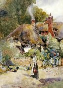 David Woodlock - Old Cottage at Sutton Courtney, Berkshire