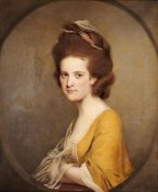 Joseph Wright - Portrait of Dorothy Hodges