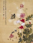 Ma Yuanyu - Corn Poppy and Butterflies