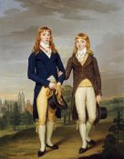 Francis Alleyne - Portrait of Two Eton Schoolboys