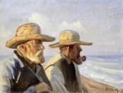 Michael Ancher - Two Skagen Fishermen